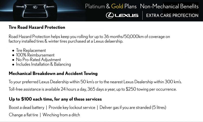 Non Mechanical Benefits of Extra Care Protection through Heffner Lexus