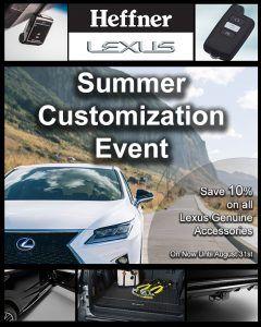 Lexus Customization Event 8x10