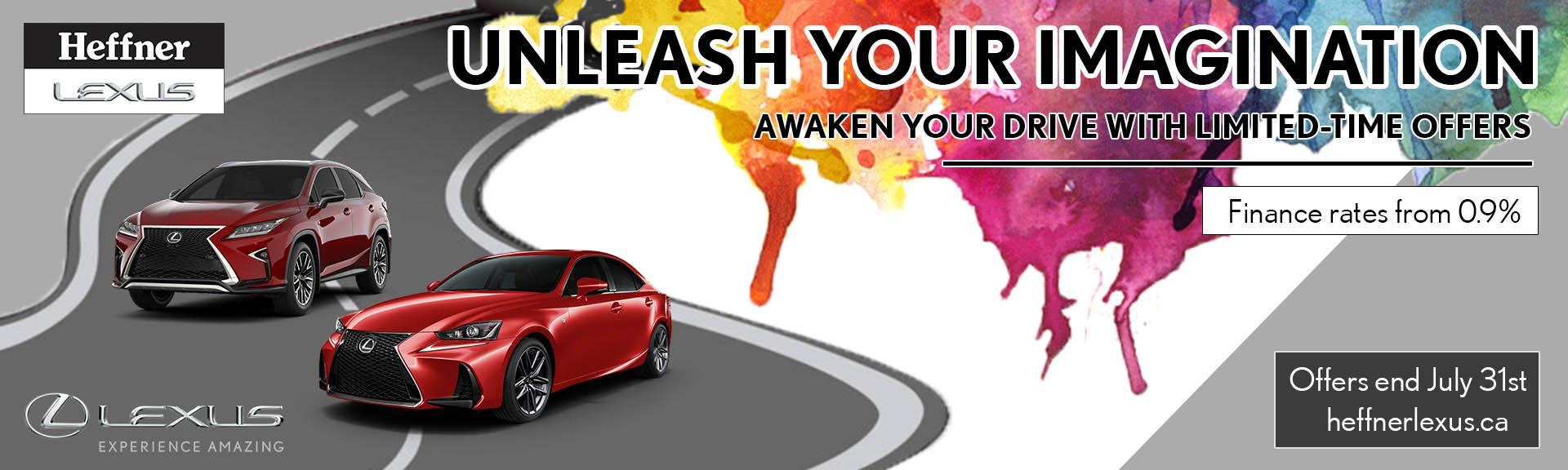 Unleash Your Imagination_July