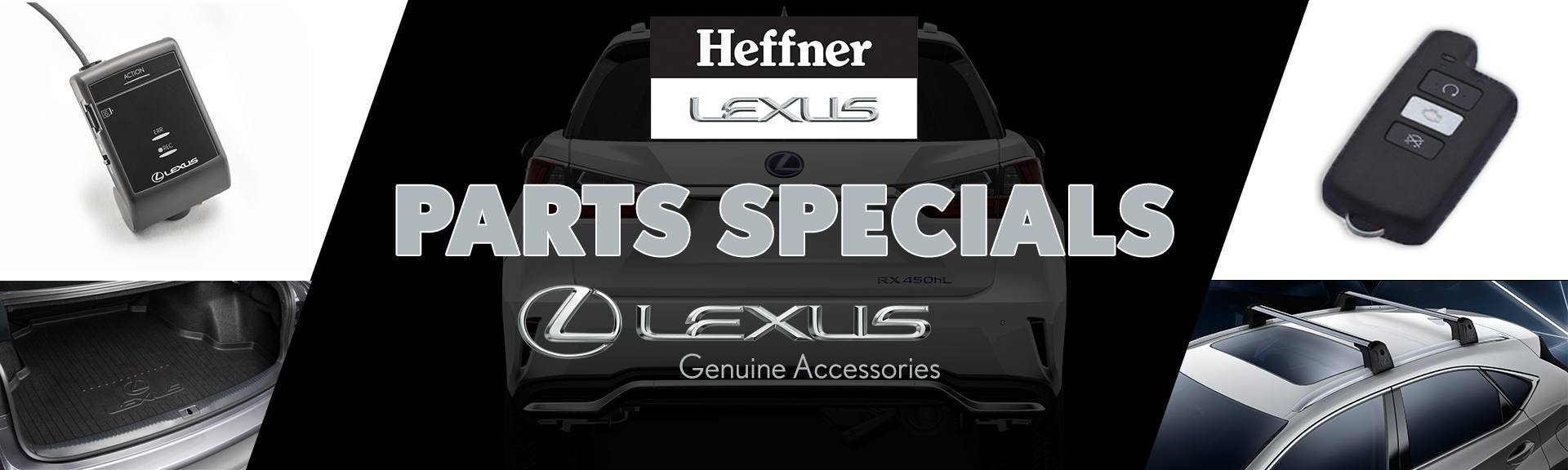 Heffner Lexus Parts Specials Page