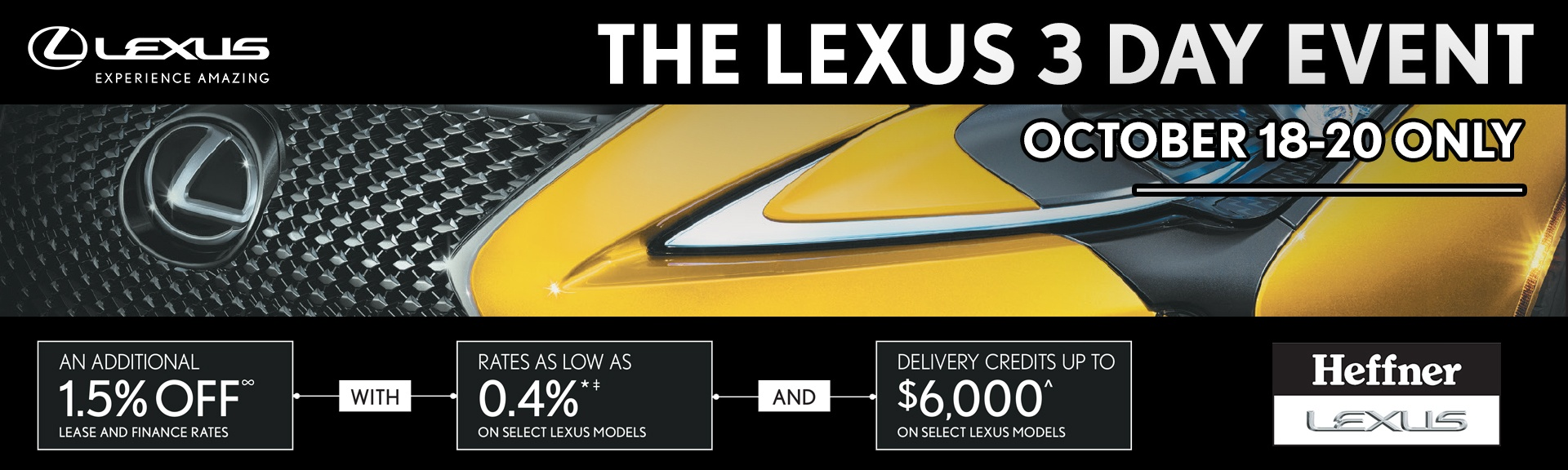 The Lexus 3 Day Event
