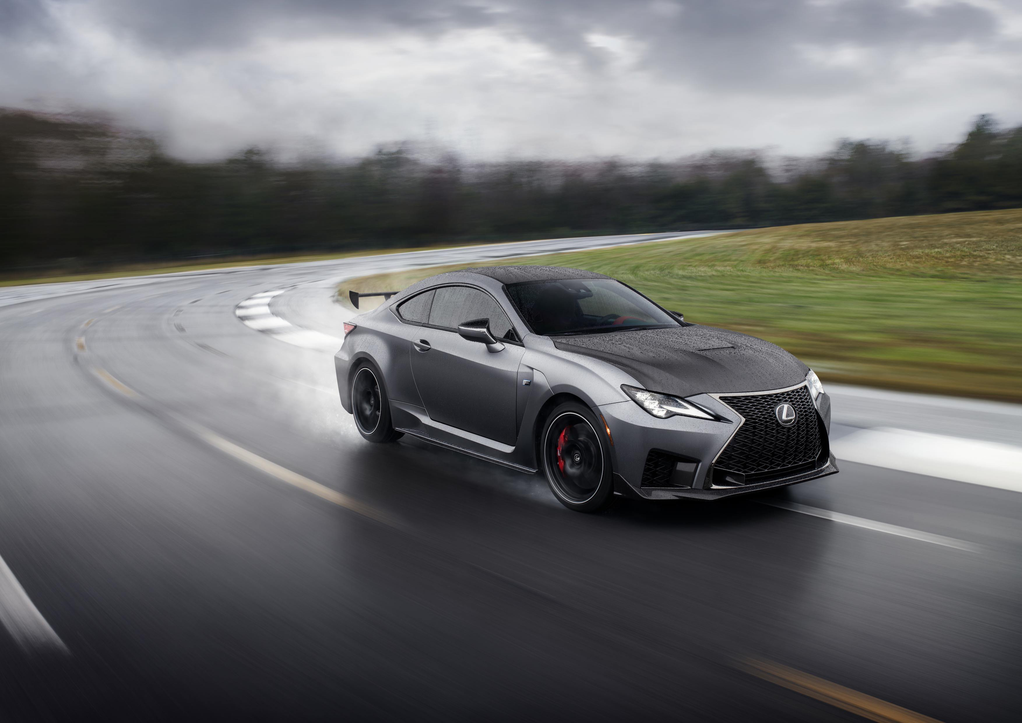 2020 LEXUS RC F AND RC F TRACK EDITION DEBUT IN DETROIT
