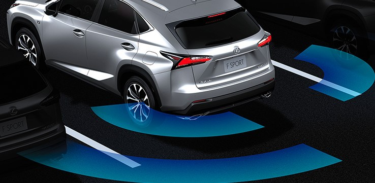 2019 Lexus NX_rear cross traffic alert