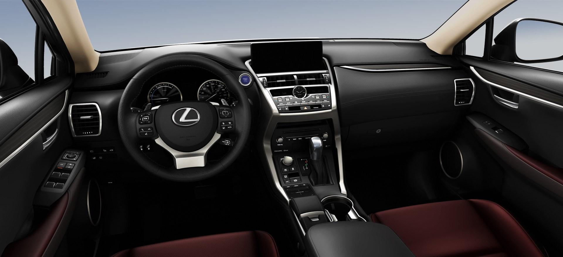 2019 Lexus NX Controls