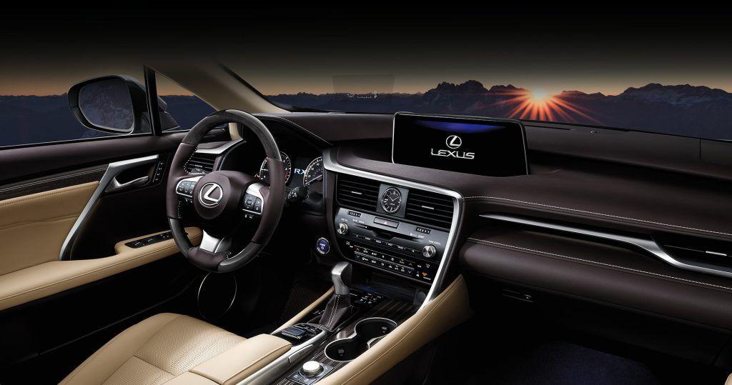 2019 Lexus RX lexus-2019-rx-350-interior-parchment-dashboard-x