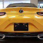 2019 Lexus LC 500 Inspiration Edition Back End