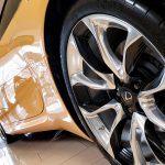 2019 Lexus LC 500 Inspiration Edition Back Tire