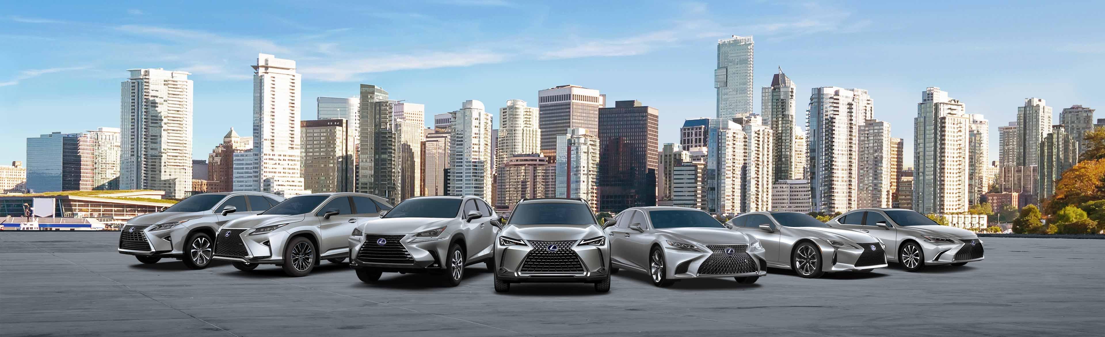 Lexus Lineup