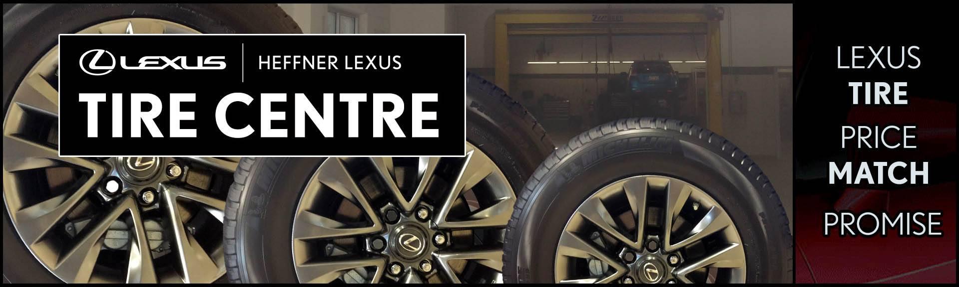Lexus Tire Centre Banner Ad