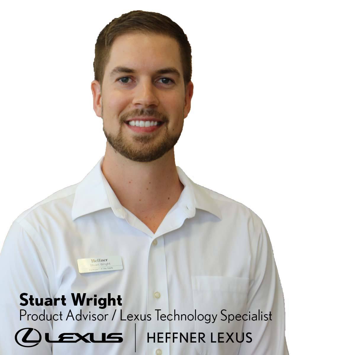 Stuart Wright_Lexus Technology Specialist