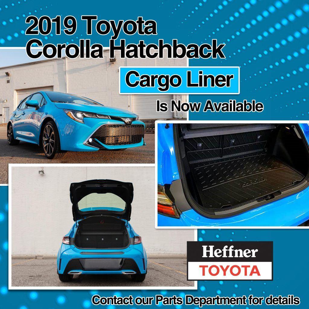 2019 Toyota Corolla Hatchback Cargo Liner