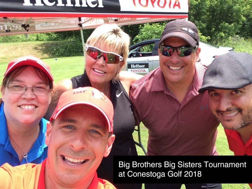Big Brothers Big Sisters Golf Tournament 2018 at Conestoga Golf.