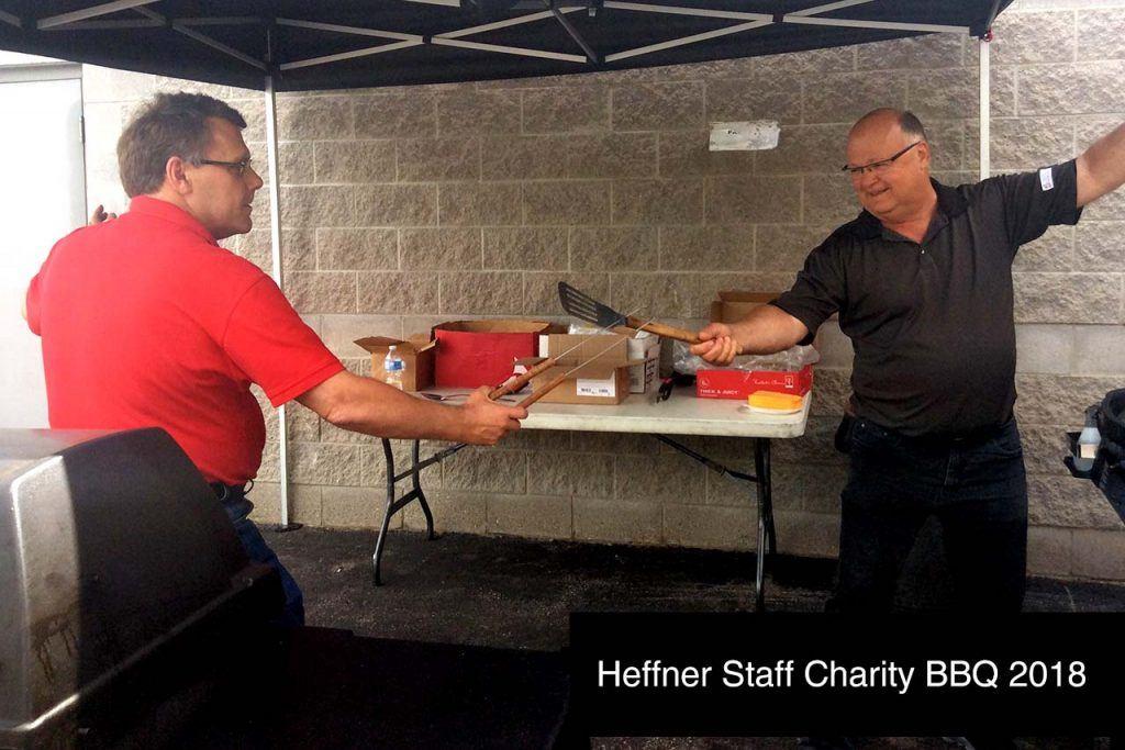 Heffner Staff Chairty BBQ 2018