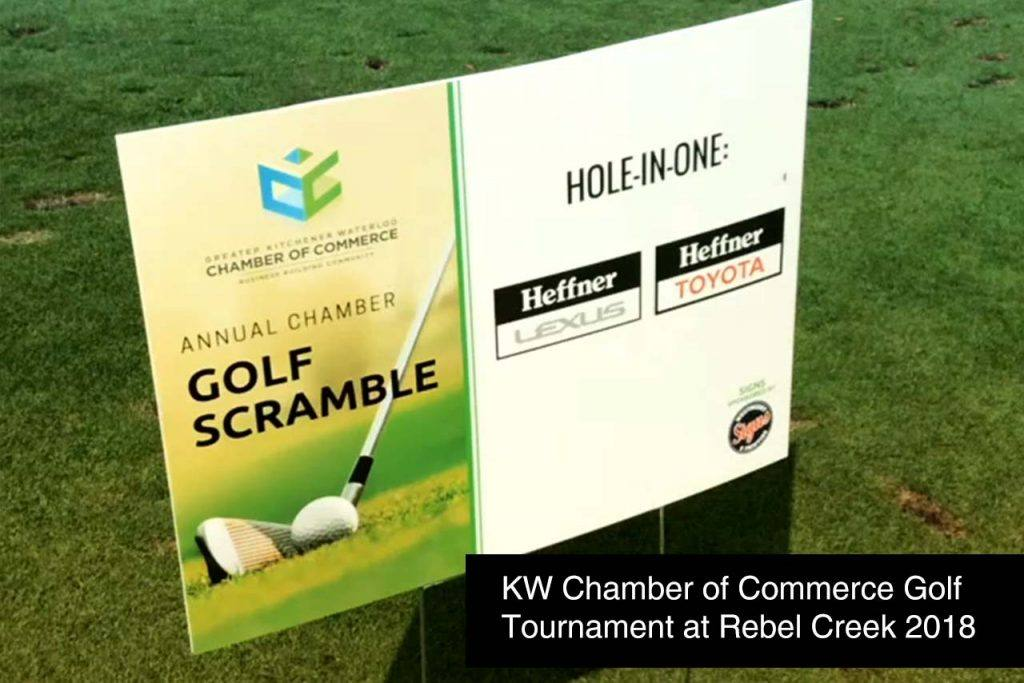 KW Chamber of Commerce Golf Tournament at Rebel Creek 2018