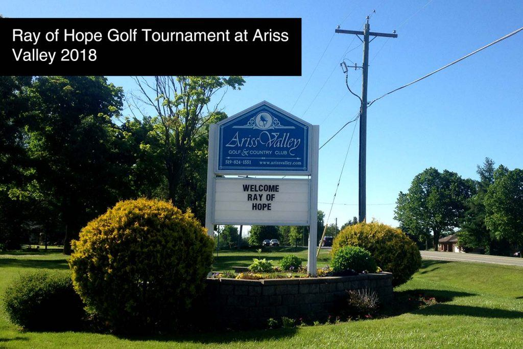 Ray of Hope Golf Tournament at Ariss Valley 2018