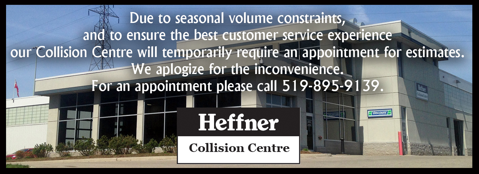Heffner Motors - Service Department - Appointments