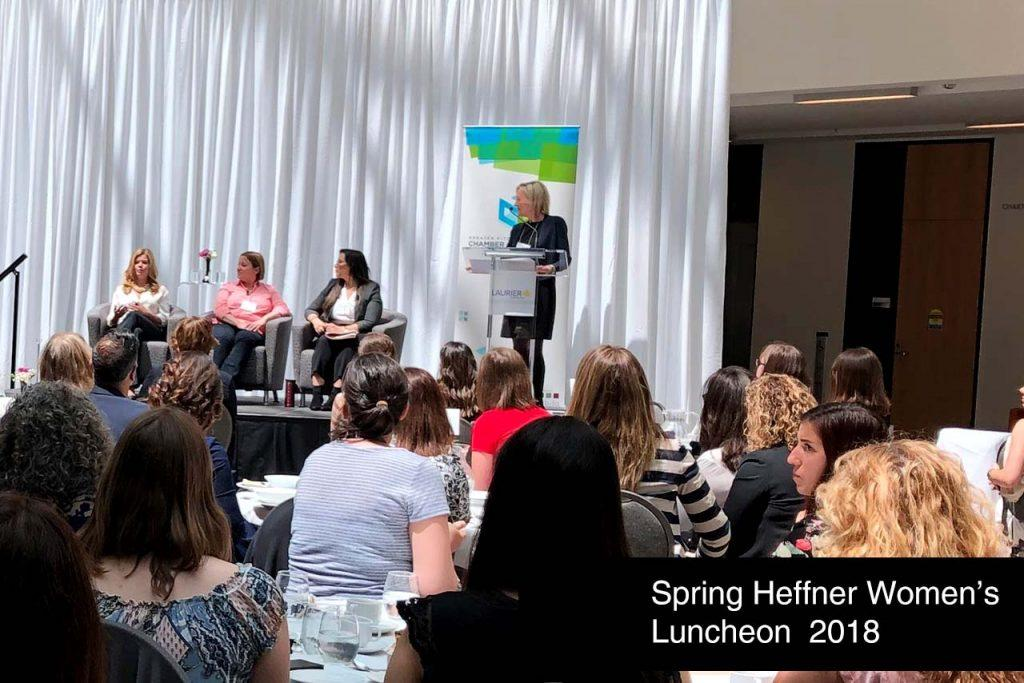 Spring Heffner Women's Luncheon 2018 with KW Chamber of Commerce