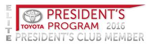 Elite President's Club Member