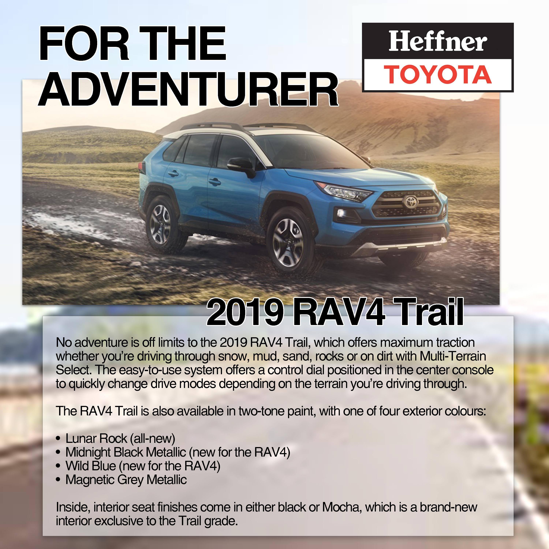 2019 Toyota Rav4 Heffner Toyota