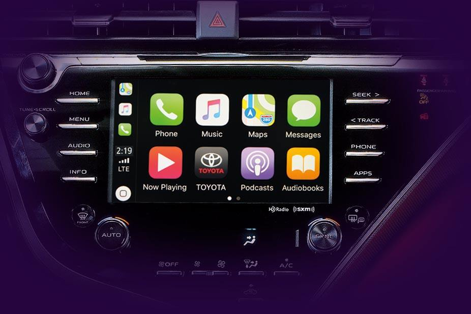 Camry Apple CarPlay
