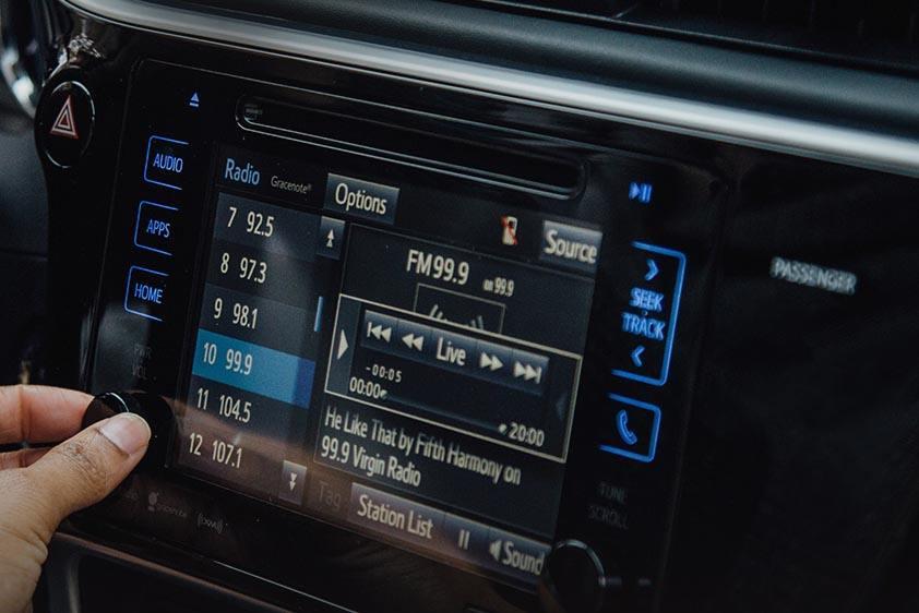 Corolla Touchscreen Display