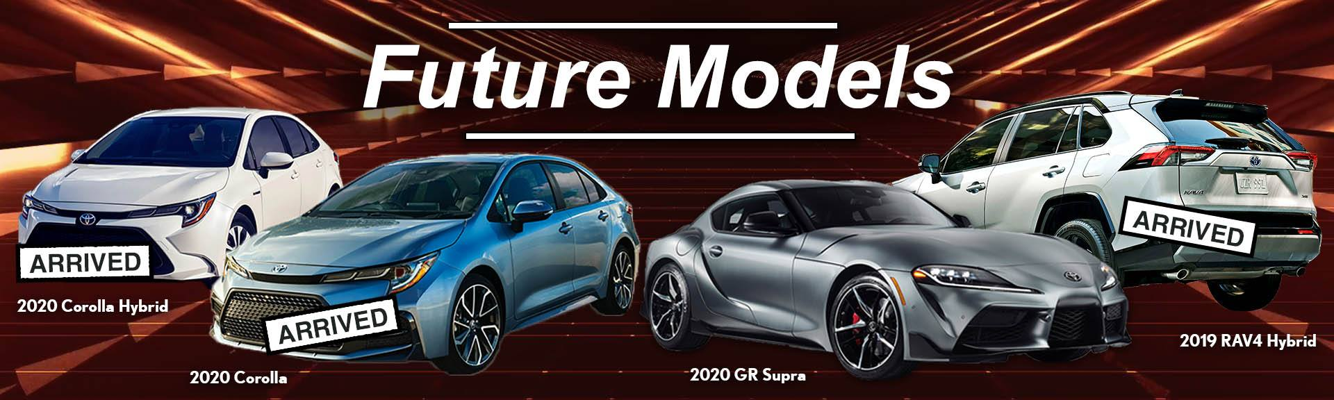 Toyota Future Models Banner Ad