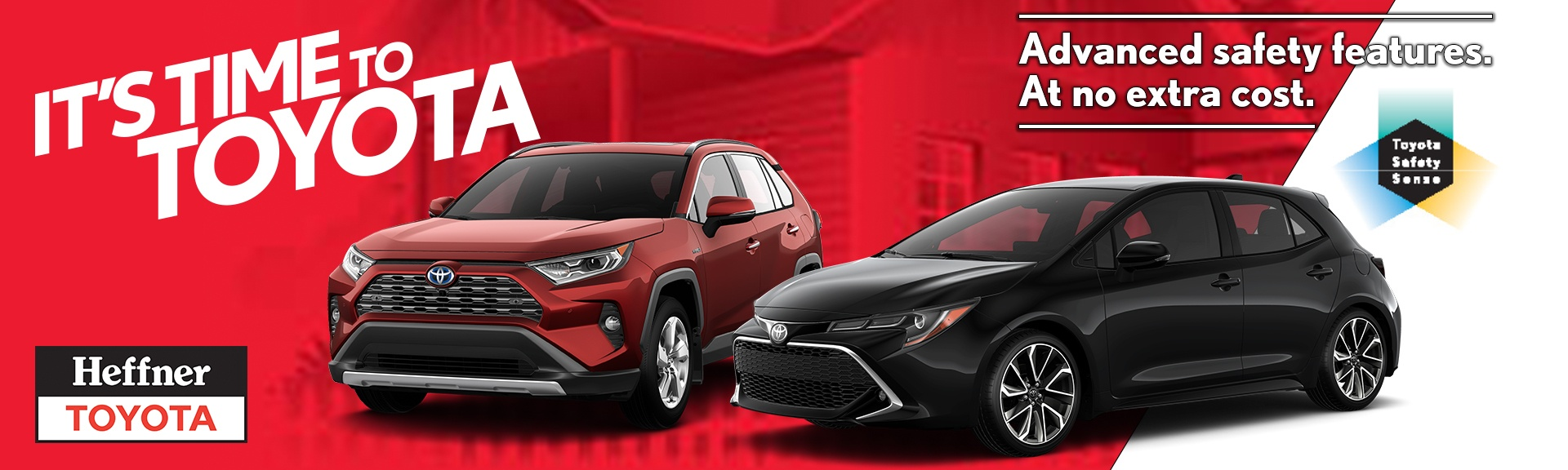 It's Time to Toyota at Heffner Toyota.