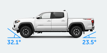 toyota-2019-tacoma-features-performance-vehicle-approach-angle-4x4-double-cab-trd-sport-alpine-white-exterior-l