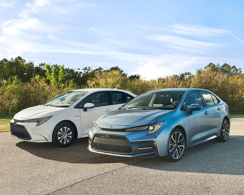2020 Toyota Corolla and 2020 Toyota Corolla Hybrid