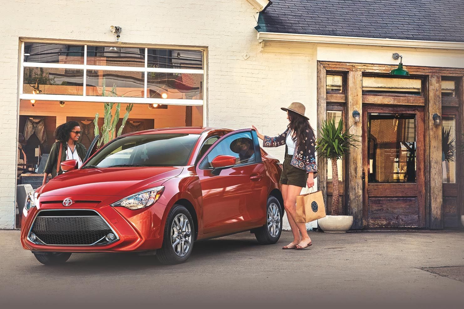 Safety is Standard on the 2019 Yaris Sedan