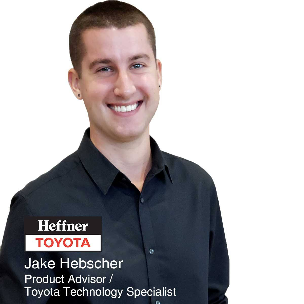 Jake Hebscher - Product Advisor and Toyota Technology Specialist