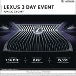 Lexus 3 Day Event_Heffner Lexus_June 20-22