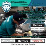 #Farwell4Hire at Heffner's