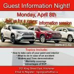 Guest Information Night_April 6