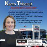 Heffner Team Member Spotlight. Karen Thibeault. Appointment Coordinator. Heffner Toyota.