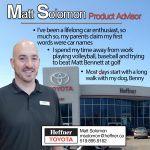 Member Spotlight. Matt Solomon. Product Advisor. Heffner Toyota.