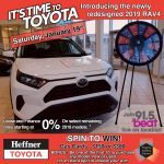 RAV4 Spin To Win Sale