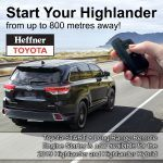 Start + Highlander and Highlander Hybrid